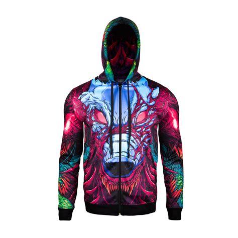 Jaket Zipper Hoodie Sweater Team Fortrees Hitam valve store csgo hyper beast zip hoodie