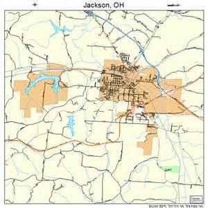 jackson ohio map 3937842