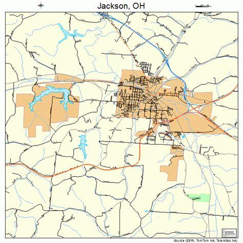 jackson map jackson ohio map 3937842