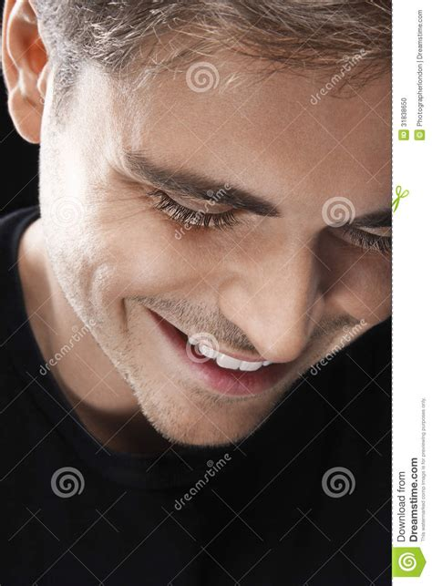 smiling young man   stock photo image