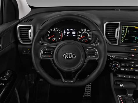 Kia Soul Steering Wheel Size Image 2017 Kia Sportage Sx Turbo Awd Steering Wheel Size
