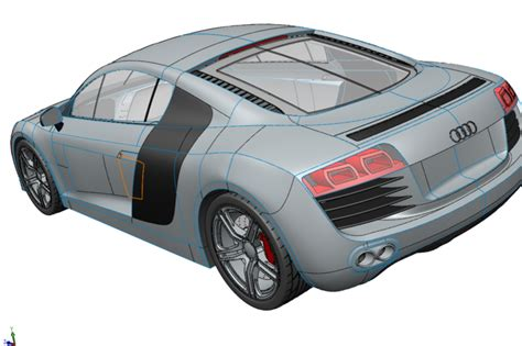 how to model a audi r8 in solidworks 12 hours in 5 minutes solidsmack audi r8 solidworks other 3d cad model grabcad