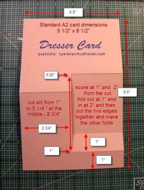 side step dresser card template 96 best images about cards dresser on
