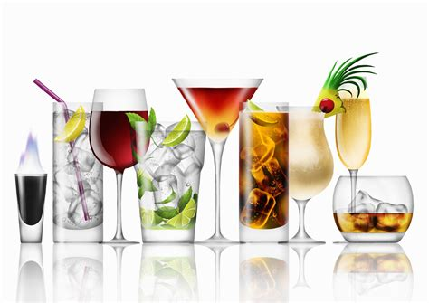 alcoholic drinks calorie counts for popular alcoholic drinks