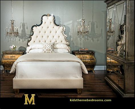 Old Hollywood Glamour Bedroom Ideas | decorating theme bedrooms maries manor hollywood at