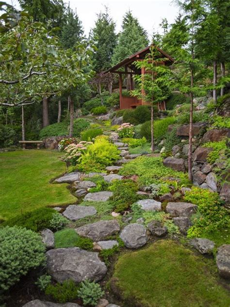 backyard landscaping ideas with rocks how to landscaping with rocks garden decor 1001 gardens