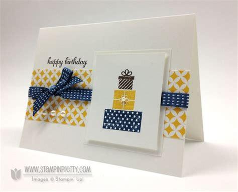 Modern Handmade Cards - a modern color trio for fall ppa170 stin pretty