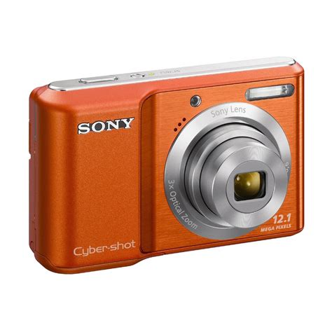 sony dsc s2100 o cyber 174 12 0 megapixel 3x optical zoom digital orange
