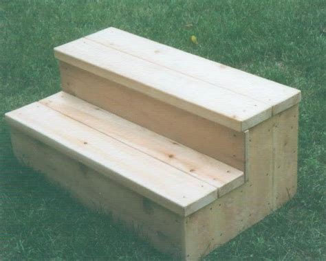 Build Wooden Build Wood Steps storage step stool tub tub steps with storage compartments home