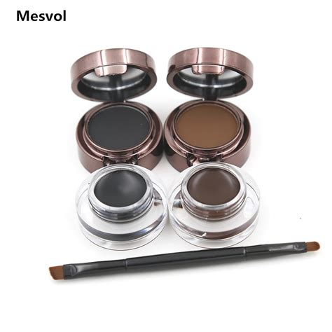 Eyebrow Eyeliner 2 eyebrow powder eyebrows eyeliner gel wear gel