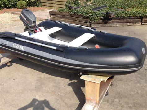 opvouwbare rubberboot met motor grand rubberboten heemhorst watersport
