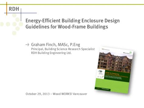 design guidelines for commercial buildings energy efficient building enclosure design guidelines for
