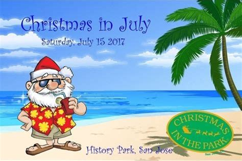 christmas in july fundraiser history san jose