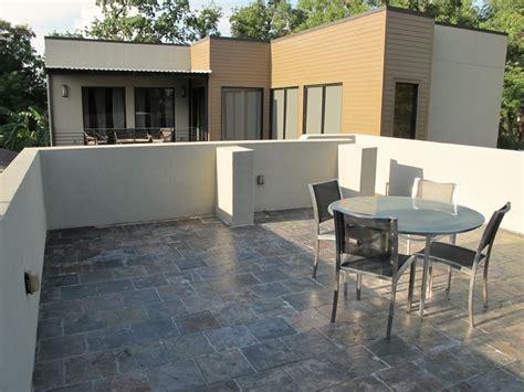 rooftop deck house plans architectural designs