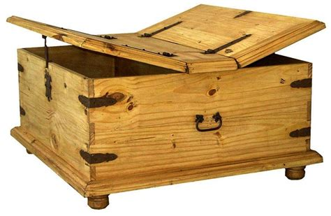 storage trunk coffee table plans woodworking projects