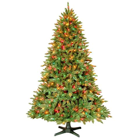 gp ltd 7 5 ft madison pine tree with never out lite and