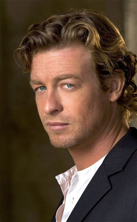 blond hair actor in the mentalist photo de simon baker dossier smith photo simon baker