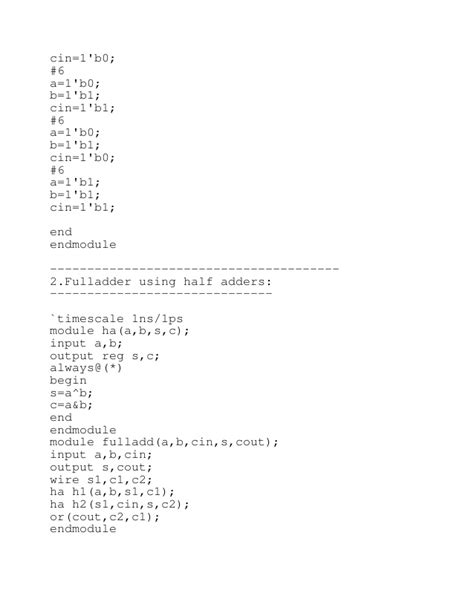 test bench verilog verilog codes and testbench codes for basic digital