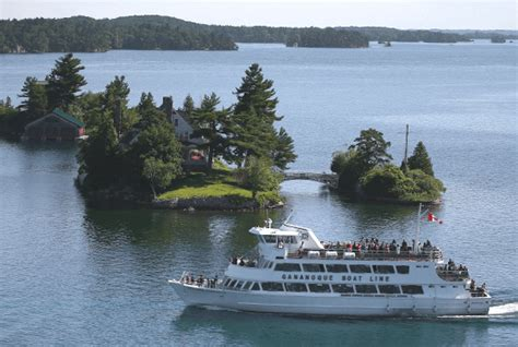 cruise to islands gananoque boat line lost ships of the 1000 islands cruise