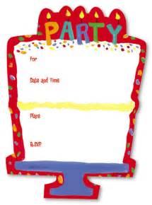 best photos of birthday invitation blank templates free blank birthday invitations template
