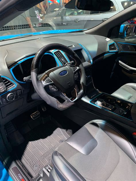 ford edgeedge st custom steering wheel socal