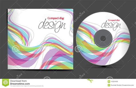 design free cd cover cd cover design royalty free stock images image 15324409