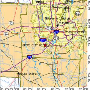 Grove City Ohio Map by Grove City Ohio Oh Population Data Races Housing