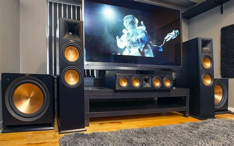 home theatres inspiring klipsch reference home theater