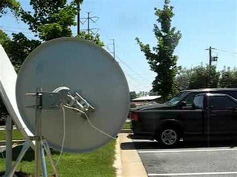 ws international motorized satellite dish antenna for fta ku