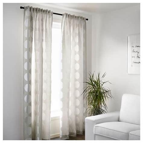 accessori per tendaggi le tende ikea la versatilit 224 di tessuti e tendaggi