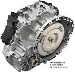 zf 9 speed automatic transmission for chrysler and dodge cars