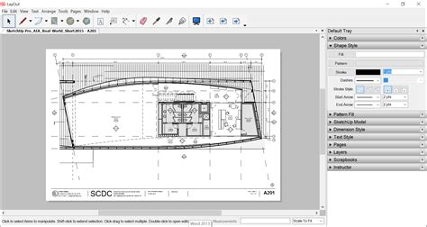 2d layout layout sketchup knowledge base