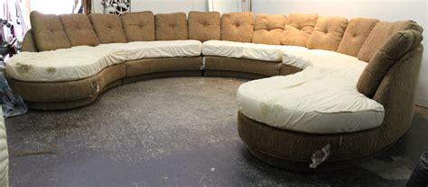horseshoe sofa horseshoe sectional sofa by erwin lambeth at 1stdibs