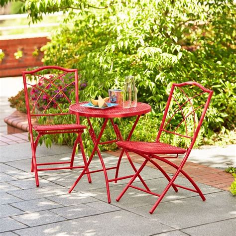 hd designs outdoors 174 orchards 3 piece folding bistro set