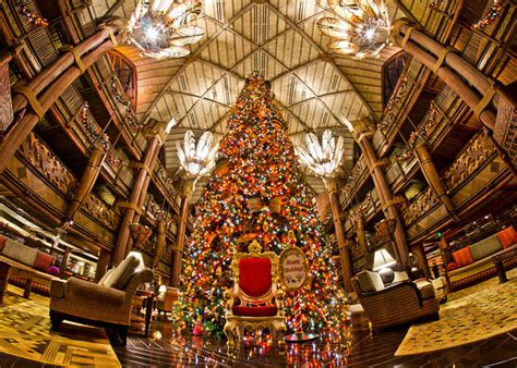 disney world resort christmas decorations tour resorts