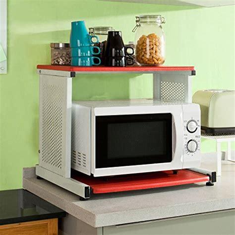 mensola per microonde sobuy forno a microonde mensole carrello da cucina