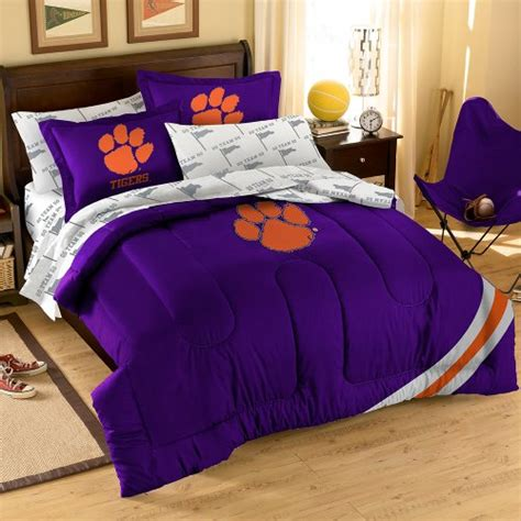 clemson comforter clemson tigers bedding price compare
