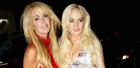 dina lohan hairstyles lindsay and ali lohan call dina ugly the blemish
