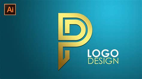 logo design illustrator cc tutorial letter p youtube