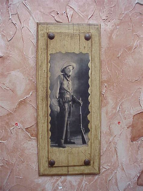 western wall mural door panel 6 9x22 cowboy western wall decor west rifle antique ebay