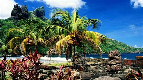 hd islands french polynesia hd widescreen wallpaper