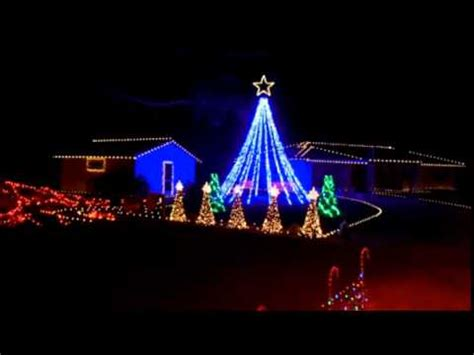 christmas lights to music youtube 2014 christmas lights to music axel f youtube