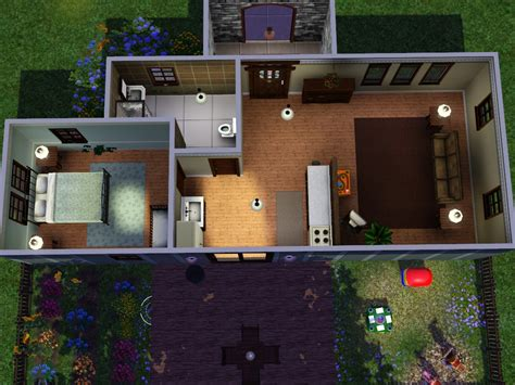 Starter Homes For Sims 3 At My Sim Realty Sims 3 Starter House Plans