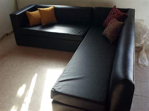 sillon en l sillon l negro hogar muebles y jardin sala de estar y