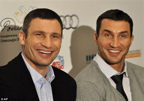 klitschko brothers who is better tyson fury hails klitschko brothers but says he ll beat