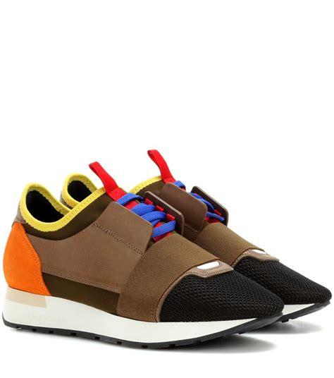 race runner balenciaga sneakers balenciaga race runner sneakers mytheresa com