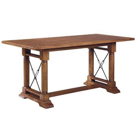 broyhill 539 attic heirlooms counter height trestle table