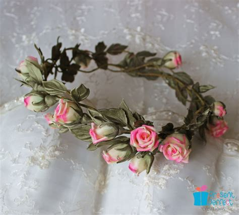 Wedding Hair Wreath Of Flowers by Wedding Hair Wreath Of Flowers Presentperfect Creations