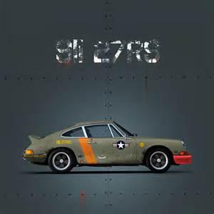 Porsche Poster Porsche 911 2 7 Rs Us Air Livery 70x100cm Poster
