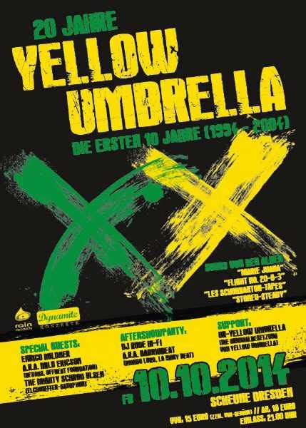 Scheune Yellow Umbrella by Reggaestory Stories 20 Jahre Yellow Umbrella Scheune